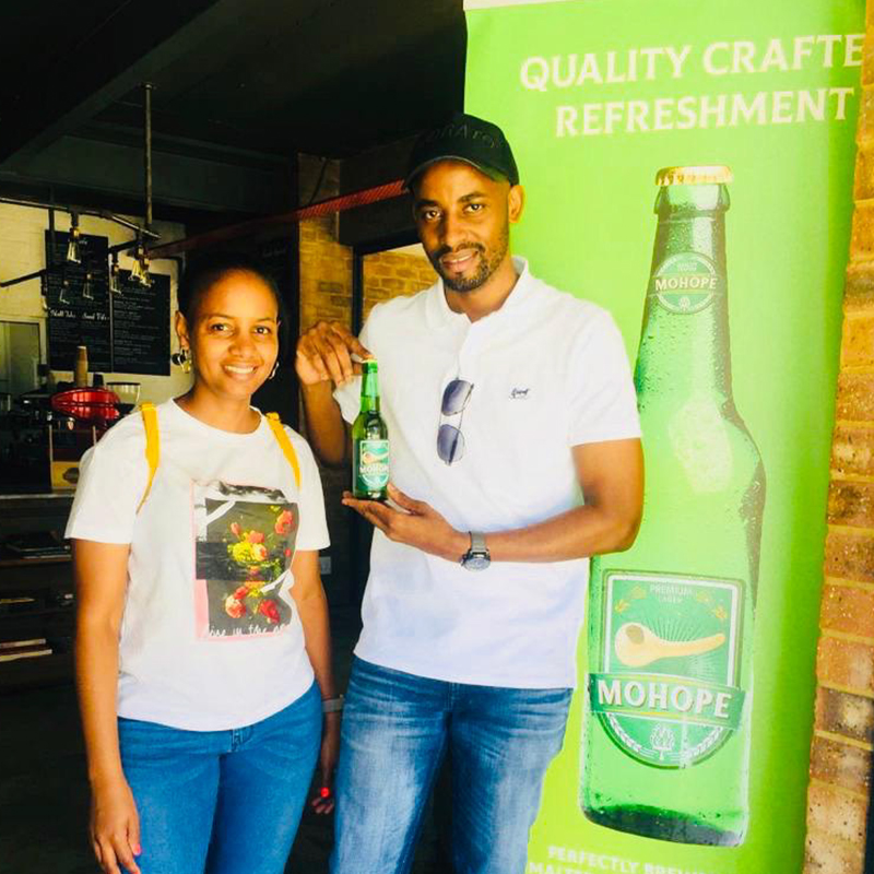 Mohope Craft Beer is a black-owned brewing company in Johannesburg, South Africa